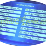 UEFA Champions League Round 16 draw – LIVE Draw