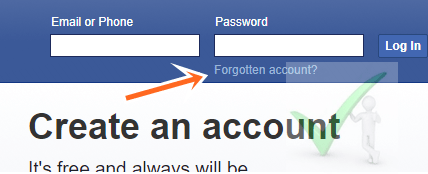 How to Retrieve Lost FaceBook Account - Recover FB.com Password