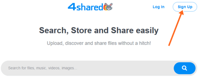 4shared.com Login | 4shared Sign Up Account for file sharing & Storage