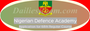 NDA 68th Regular Course Admission Application for 2016 - Apply Now
