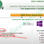 2016 JAMB Result Check and Printing Portal now open