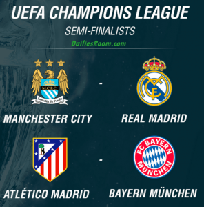 UEFA Champions League Semi-finals Draw