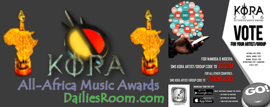 Vote for KORA 2016 All-Africa Music Awards