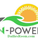 How to Upload CV/Documents on N-Power Job Application – www.npower.gov.ng