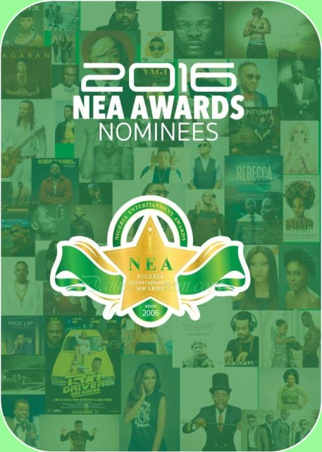 NEA 2016 Nominees Announced - Nigerian Entertainment Awards
