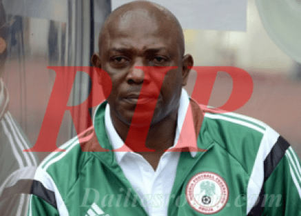 "Nigerian top iconic coaches ""Stephen Keshi"" passed away"