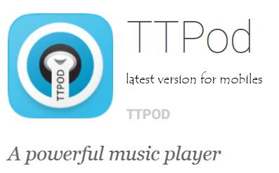 TTPod latest version Free Download