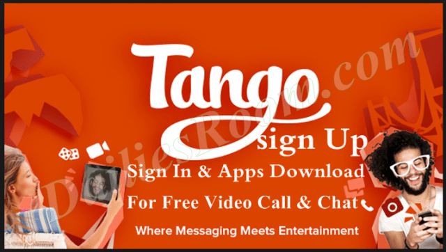 sign up for tango