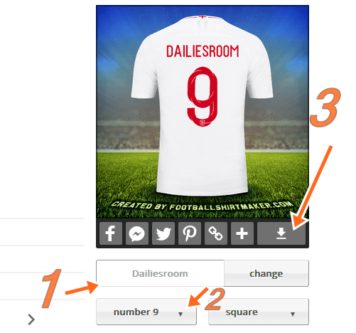 How To Make Your Own Football Jersey With Your Phone Or PC