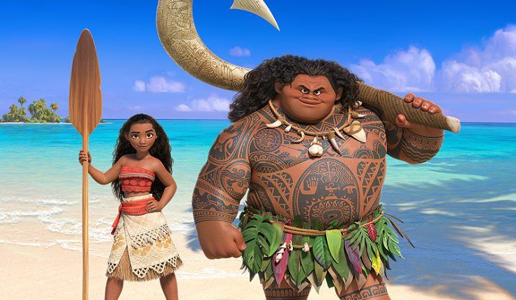 "Disney First ""Moana"" teaser trailer released, Starring Dwayne Johsnon"