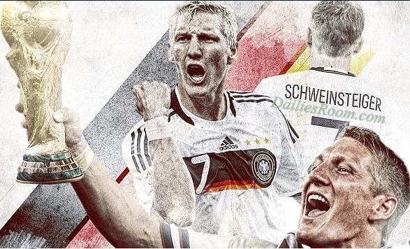 Bastian Schweinsteiger Announced Germany Retirement After 120 appearances
