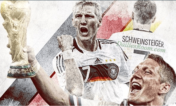 Bastian Schweinsteiger Announced Germany Retirement After 120 appearances
