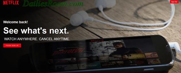 Netflix Account Sign Up Registration | www.Netflix.com Download App | Sign in Netflix
