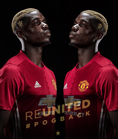 Finale Man United Signed paul Pogba For five-year deal, with the 105m Euros
