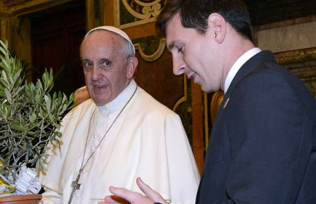 Pope Francis Choose Between Messi, Ronaldo, Maradona and Pele As World Best footballer