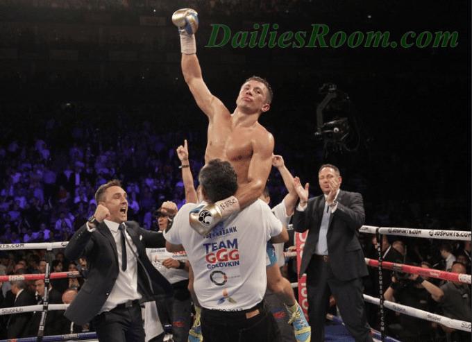 Golovkin vs. Jacobs fight Order By WBA