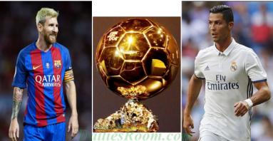 Ballon d'Or: Full 30-man shortlist For Ballon d'Or 2018