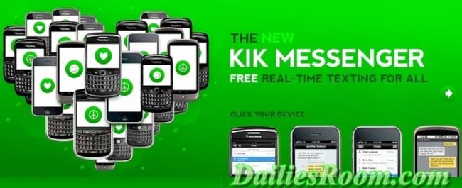 kik messenger app - sign up | free download
