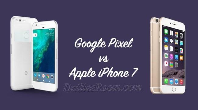 Google Pixel XL Vs iPhone 7 Plus | Battle of Cameras