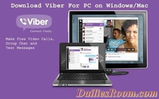 Download Latest Viber Desktop app | features