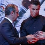 Cristiano Ronaldo Wins Spanish La Liga Best Player Award 2015/16