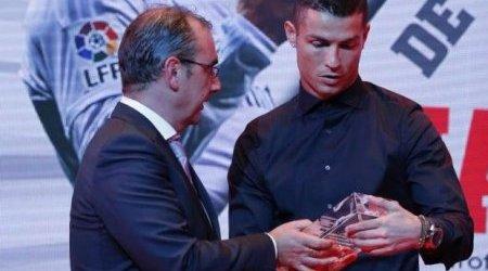 Cristiano Ronaldo Wins Spanish La Liga Best Player Award 2015/16