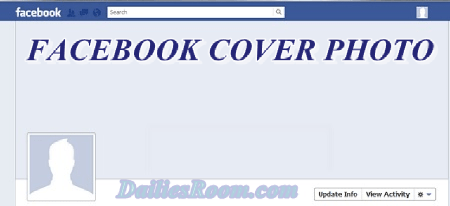 How to Add or Change Facebook Cover Photo | Profile cover photo