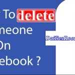 How to Remove or Delete someone on Facebook Without their Knowledge