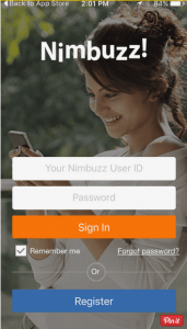 How to Create Nimbuzz Account free on Android   Registration and Sign In