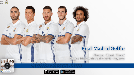 Download Real Madrid Selfie APP Latest Version for Android Phone and iPhone & iPad