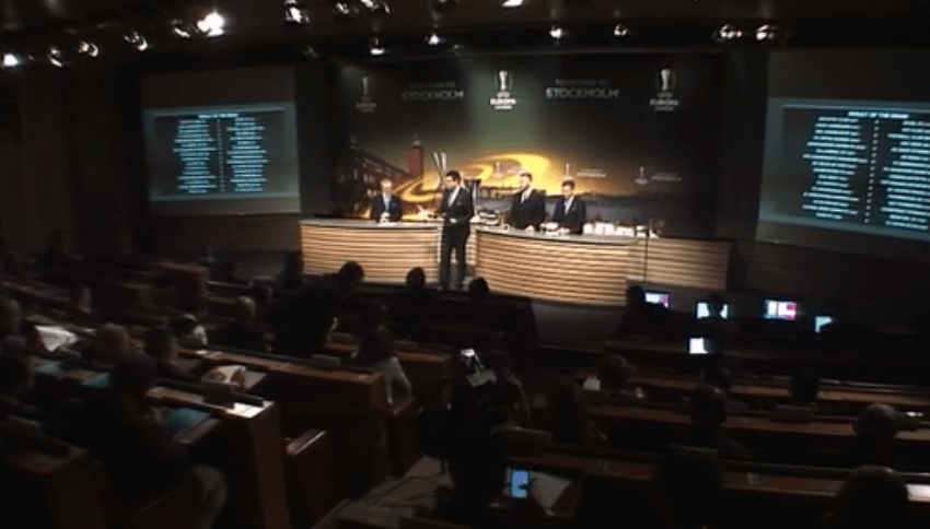 Draw results of UEFA Europa League Round-32 Draw