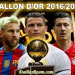 Ballon d'Or 2016 Winner – Cristiano Ronaldo beats Lionel Messi to best player award