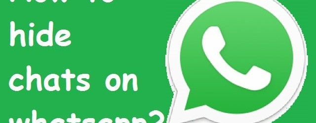 How to Archive and Unarchive Whatsapp Chats for Android   Hide Whatsapp conversation