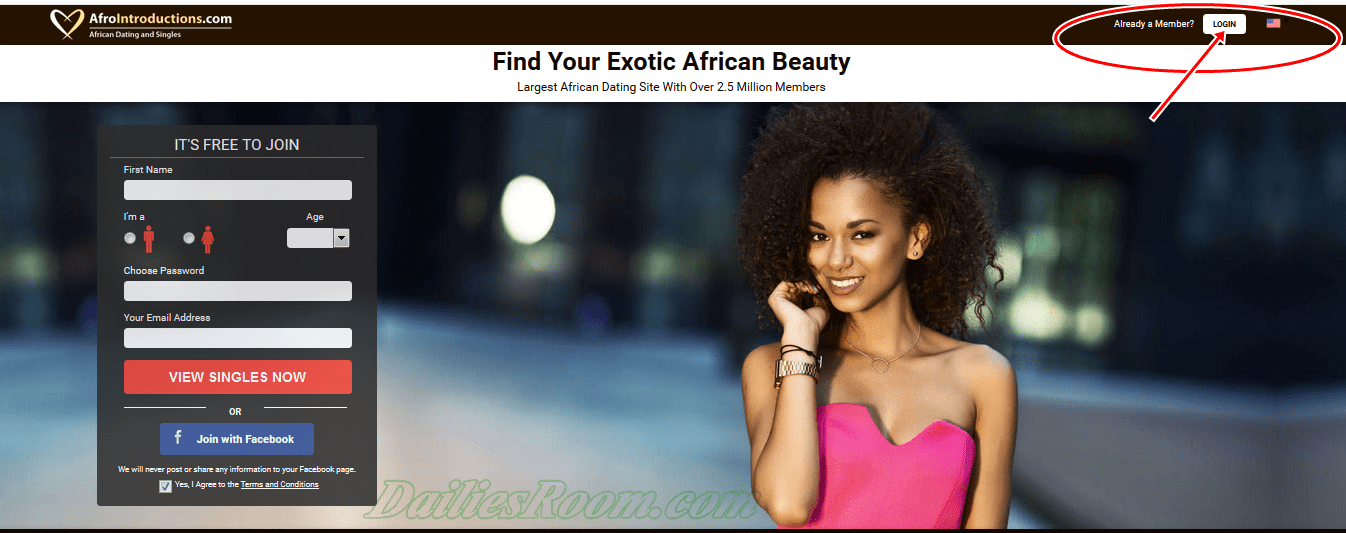 AfroIntroductions.com Registration | Afrointroductions
