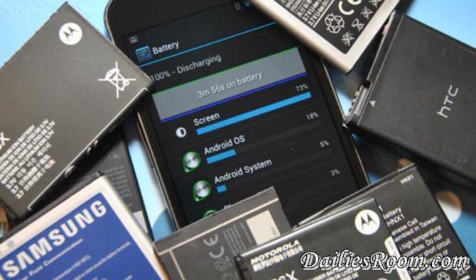 Check Out The Android Apps installed in your device that drains your Battery