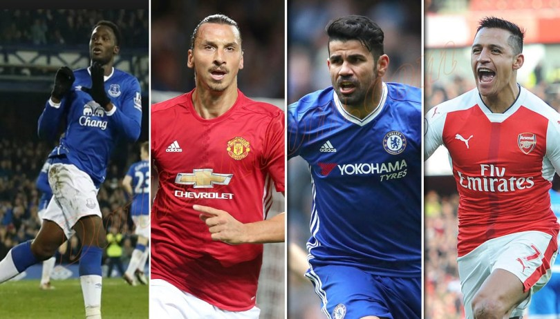 EPL Top Goal Scorers 2016/2017 Session | Highest Premier League Goal Scorers Update
