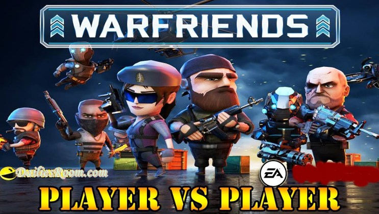 Download And Play Warfriends Android Game free | A 3D tactical action game