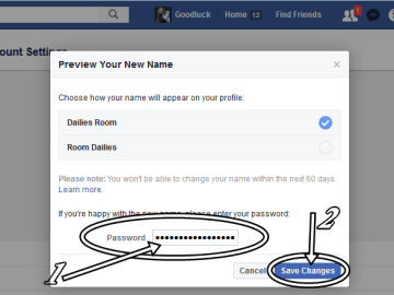 Change Facebook Profile Name | Guide to Change FB.com Account Name Fast