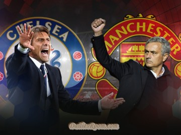 Stamford Bridge - Chelsea vs Manchester United ; Kick off Mon, 13 March 2017 07:45