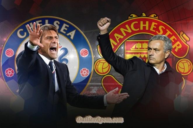 Stamford Bridge - Chelsea vs Manchester United ; Kick off Mon, 13 March 2017 07:45