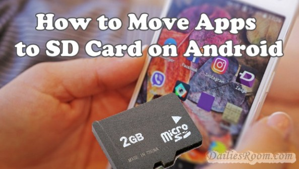 Fast way to Move downloaded Android Apps to SD Card Without Rooting