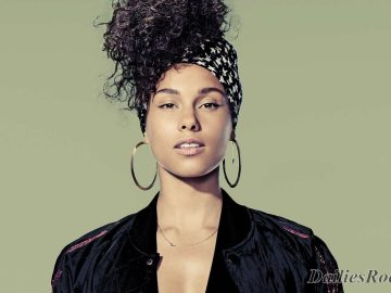 US Singer Alicia Keys Wins Amnesty International's Ambassador of Conscience Award for 2017.