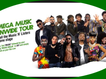 Glo Mega Music Tour Venue/Date & Location | Wizkid, Runtown, P-Square