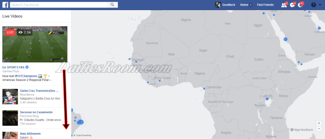 Where to Watch Treading Facebook Live Video Free - FB.com Live Map