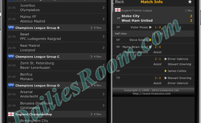 How to Download Livescore Football App Free for Android device