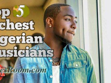 Top 5 Richest Nigeria Musicians 2017 | Estimated Networth
