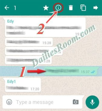 How to Check who Read Whatsapp Group Message Chat On Android Device