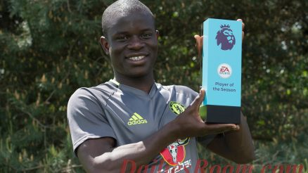 N'golo Kante wins English Premier League Best Player of the Season