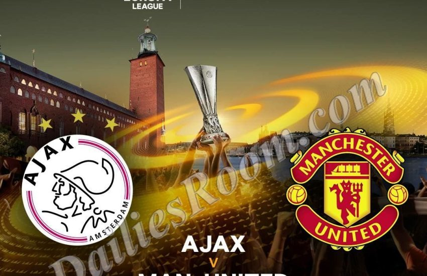 2017 UEFA Europa League Final; Ajax Vs Manchester United