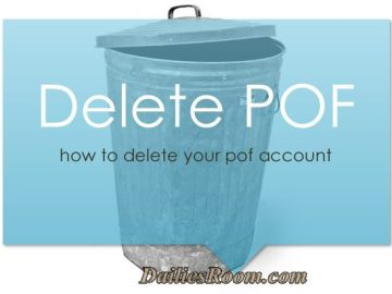 How to Delete PlentyofFish Account | www.pof.com account cancellation